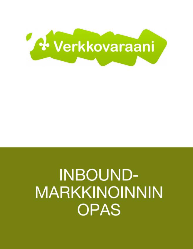 Inbound-markkinointi oppaan kansisivu